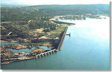 Buchanan Dam and Lake Buchanan